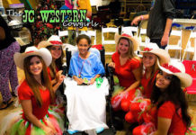 JC Western Cowgirl's Volunteer to Spread Joy During the Holidays