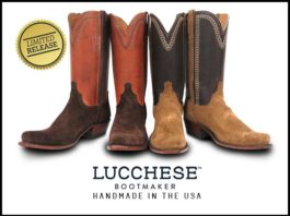 Men's New Lucchese Boots for Limted Release